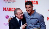 Cristiano Ronaldo e Florentino Perez