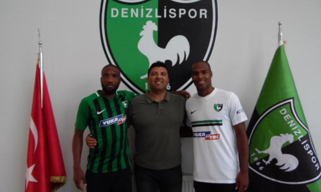 Estupiñán e Zakarya (Denizlispor)