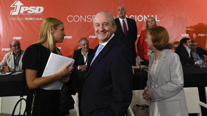 Rui Rio no Conselho Nacional do PSD