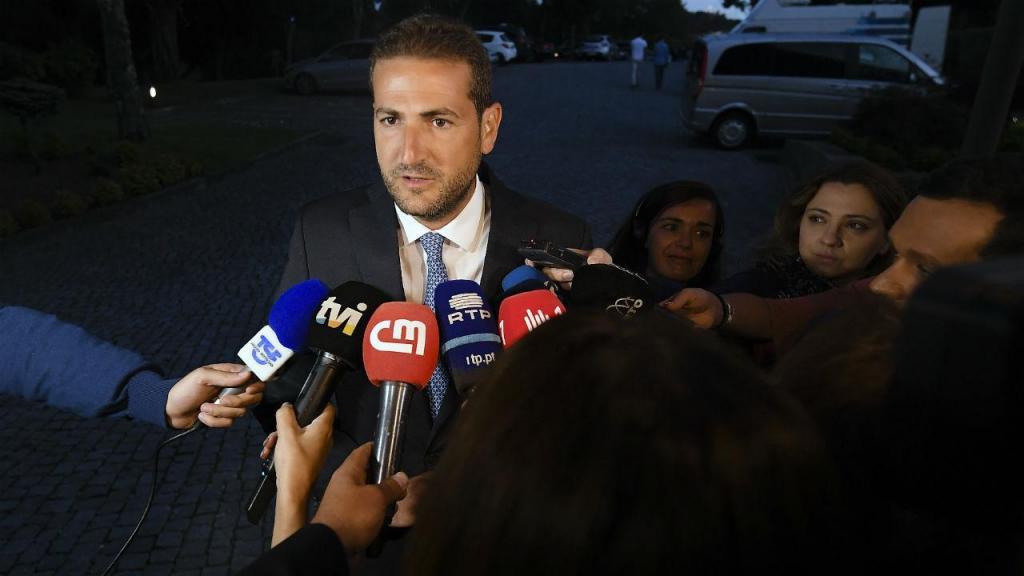 Hugo Soares no Conselho Nacional do PSD