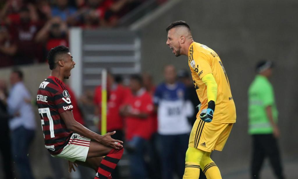 Libertadores (1/8 final) Flamengo-Emelec (Reuters)
