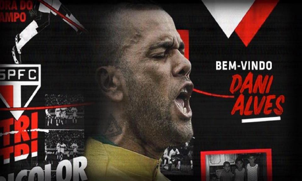 OFICIAL: Dani Alves regressa ao Brasil