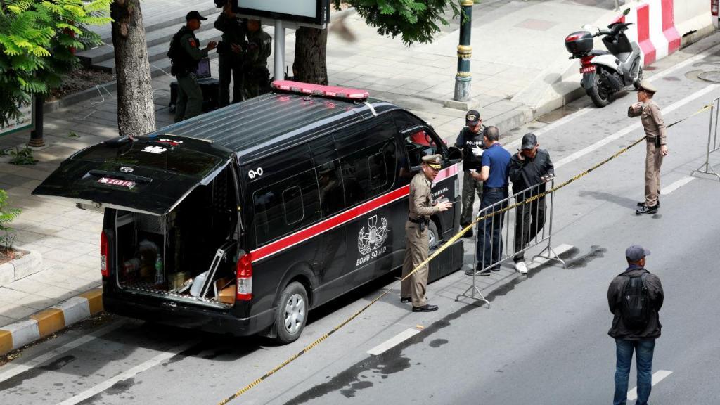 Explosões em Banguecoque