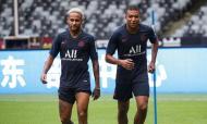 Mbappé e Neymar (foto PSG)