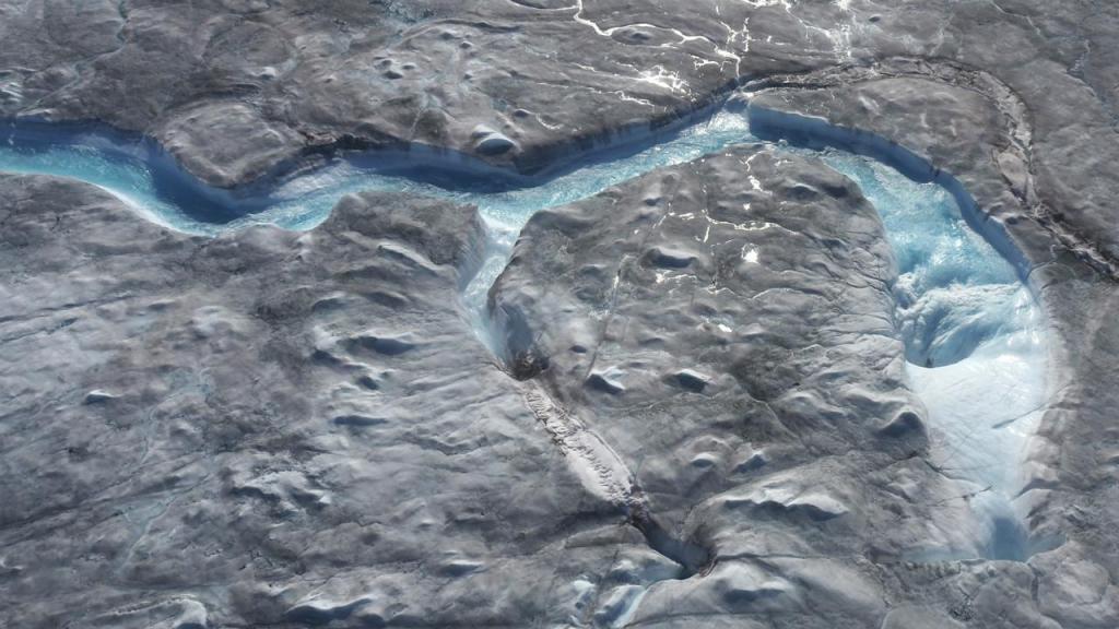 Degelo na Gronelândia