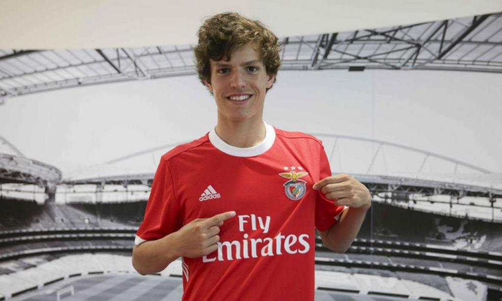 João Resende (Fonte: Benfica)