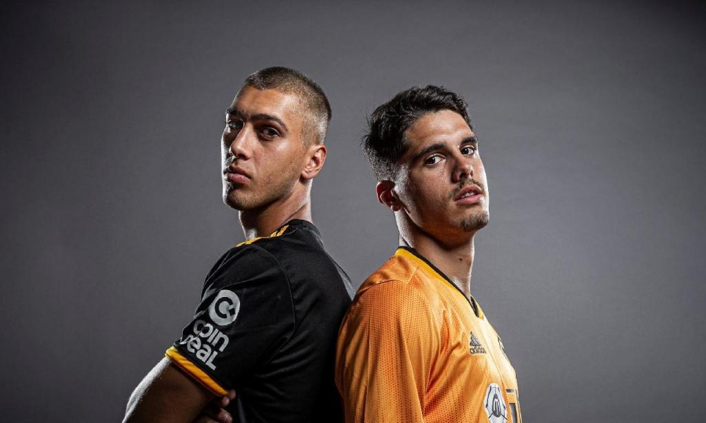 Pedro Neto e Bruno Jordão (Wolverhampton)