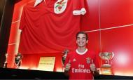 Gonçalo Negrão nos jovenis do Benfica