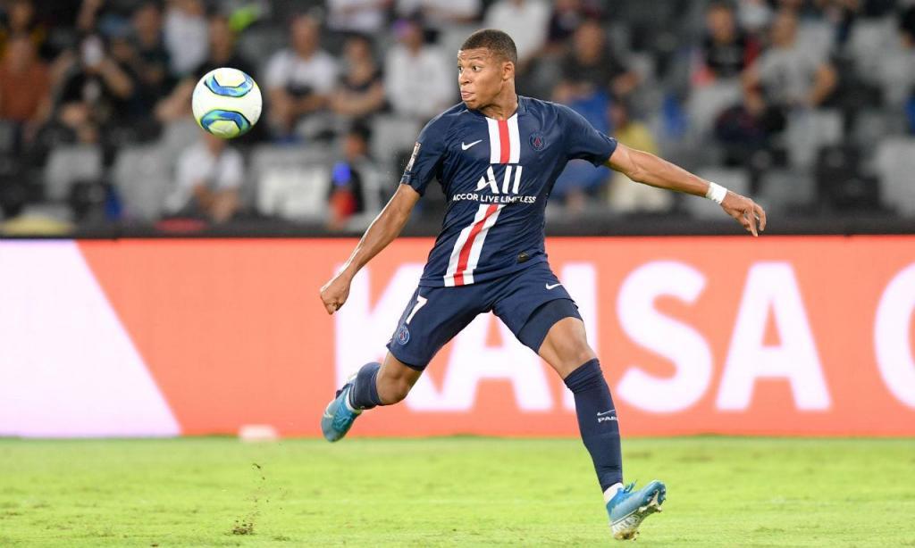 1) Mbappé (PSG): 259,2 milhões de euros