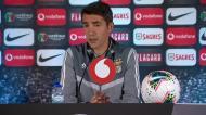 Lage explica plantel do Benfica