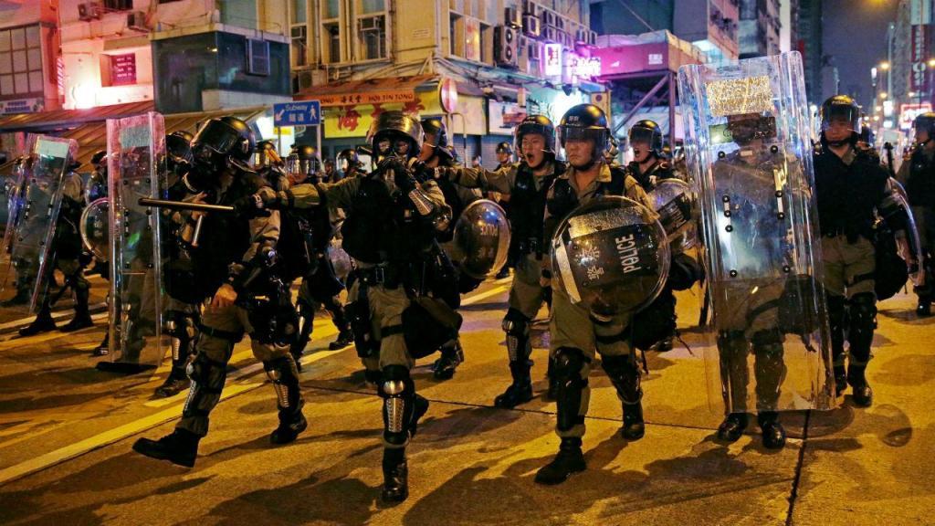 Polícia de Hong Kong