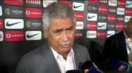 Vieira: «Agressão a diretor do Sporting? Se for verdade lamento imenso»