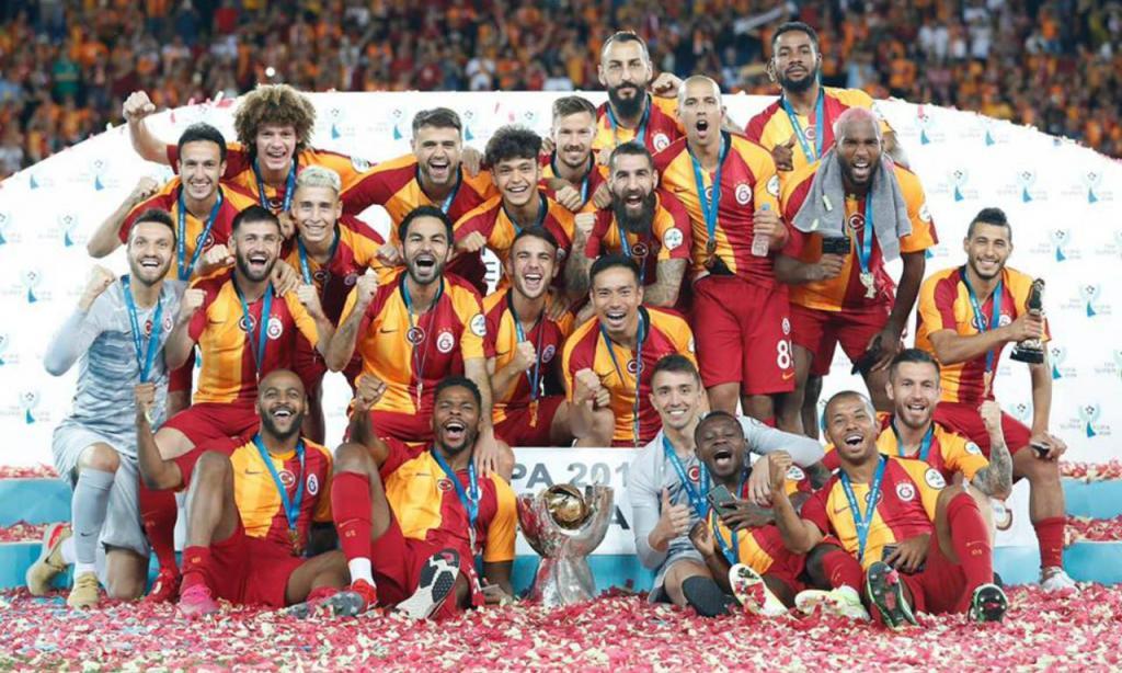 Galatasaray vence Supertaça da Turquia 2019 (Galatasaray)