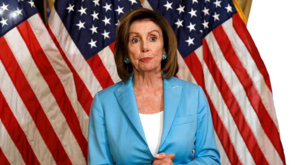 Nancy Pelosi - presidente da Câmara dos Representantes dos EUA