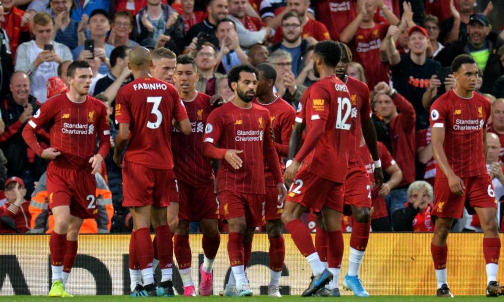 Liverpool estreou-se com vitória na Premier League