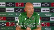 Keizer: «Bruno Fernandes é muito forte mentalmente»