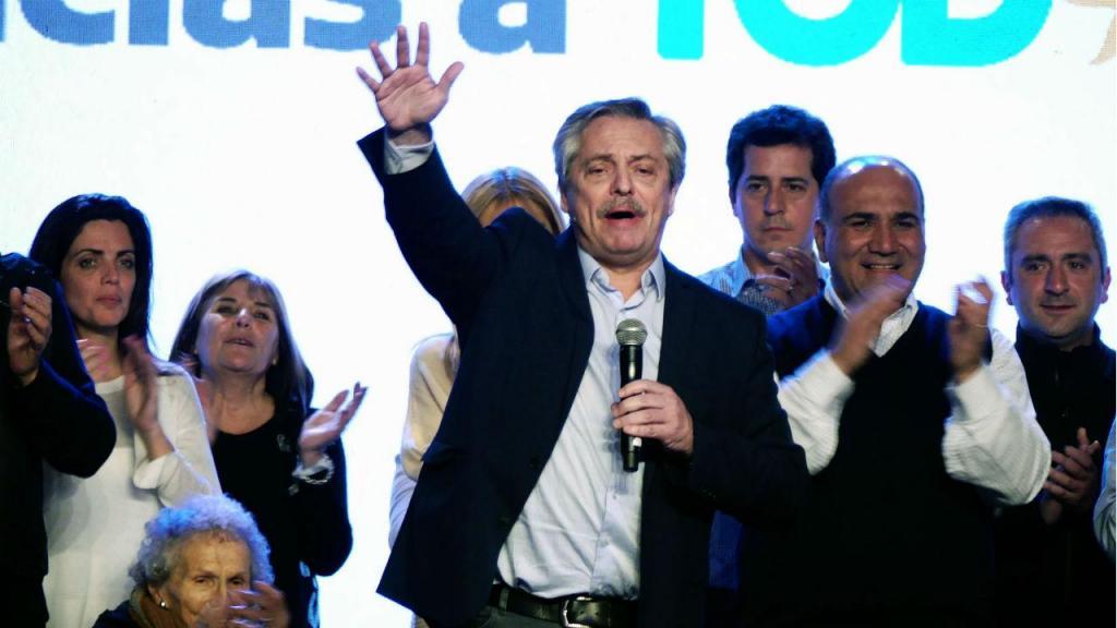 Alberto Fernández foi o mais votado nas primárias da Argentina