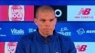 Pepe: «Krasnodar? Partimos com o mesmo espírito do primeiro jogo»