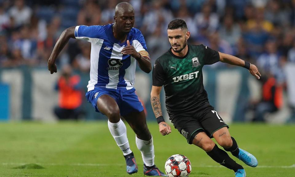 FC Porto afastado da Liga dos Campeões pelo Krasnodar