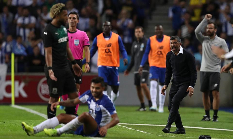 Liga Campeões: afastamento do FC Porto coloca Benfica no pote 2
