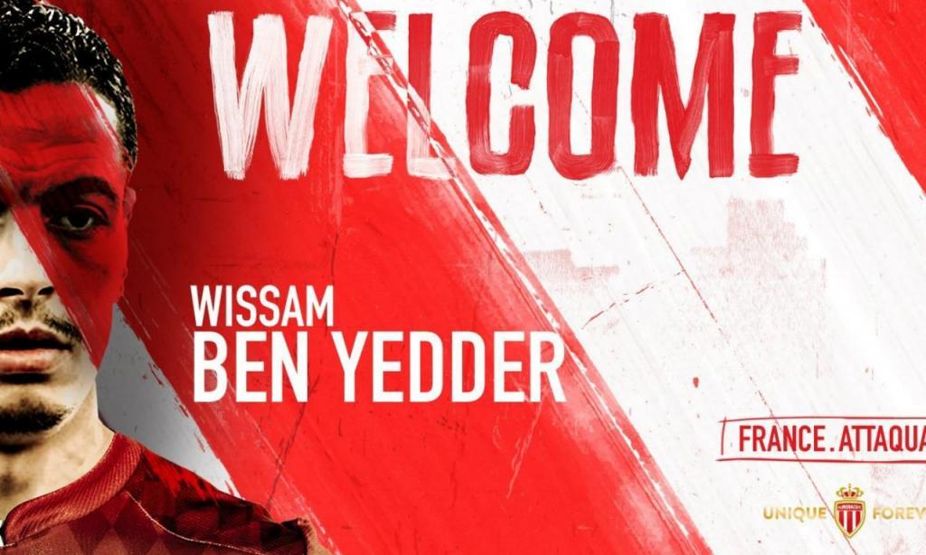 Wissam Ben Yedder (foto Mónaco)