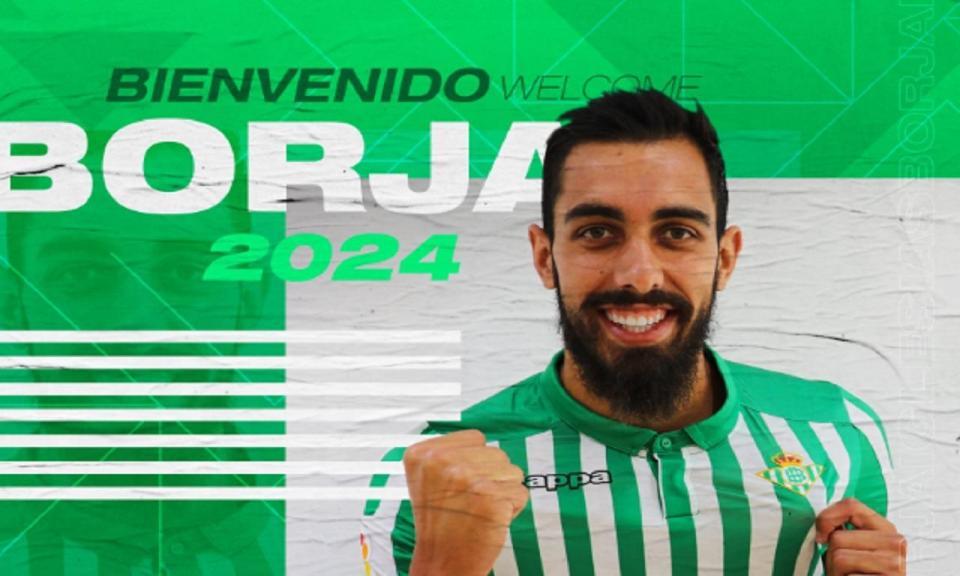 Espanha: Borja Iglesias assina pelo Betis