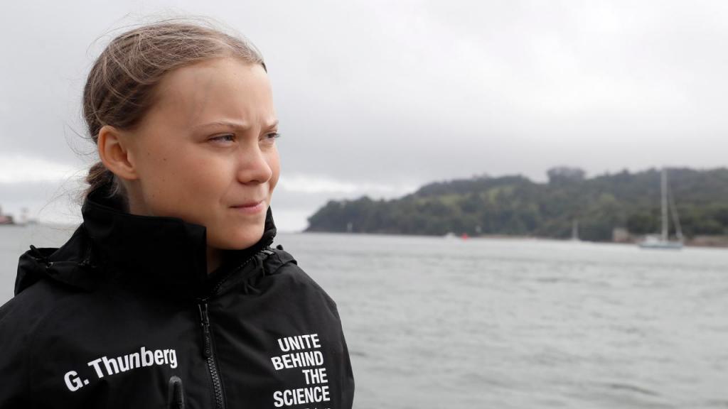 Greta Thunberg começa hoje a viagem de duas semanas pelo Atlântico