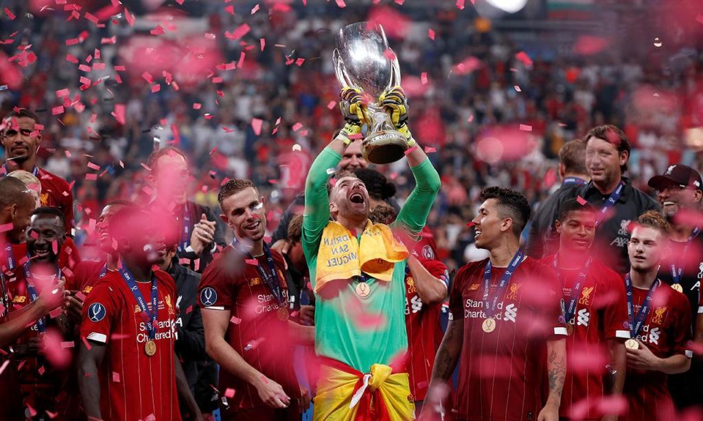 Liverpool vence Supertaça Europeia