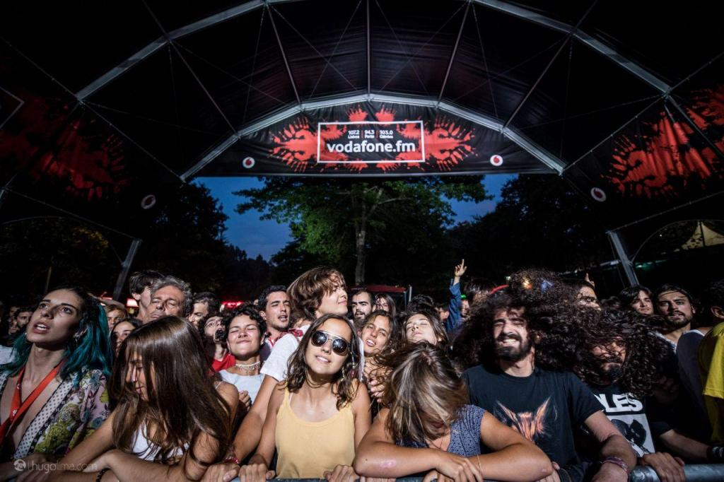 Black Midi no Vodafone Paredes de Coura