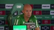 Keizer elogia trabalho de Sá Pinto em Braga