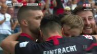 O golo madrugador que deu a vitória ao Eintracht de Gonçalo Paciência