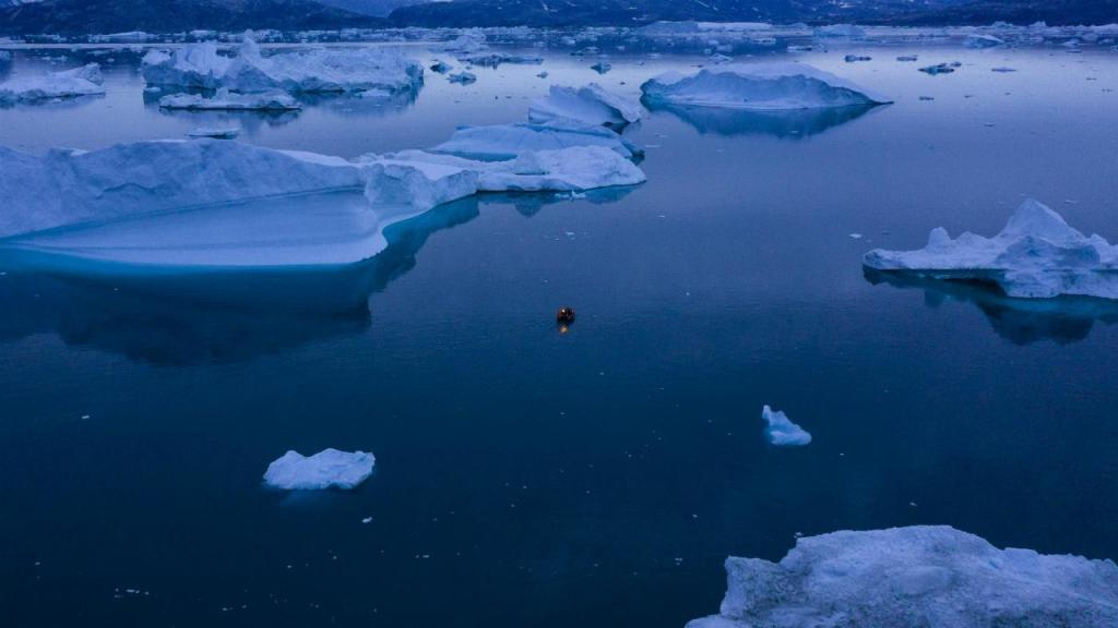 Glaciares na Gronelândia