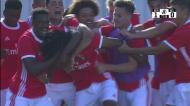 O golo que valeu a vitória ao Benfica na Liga Revelação