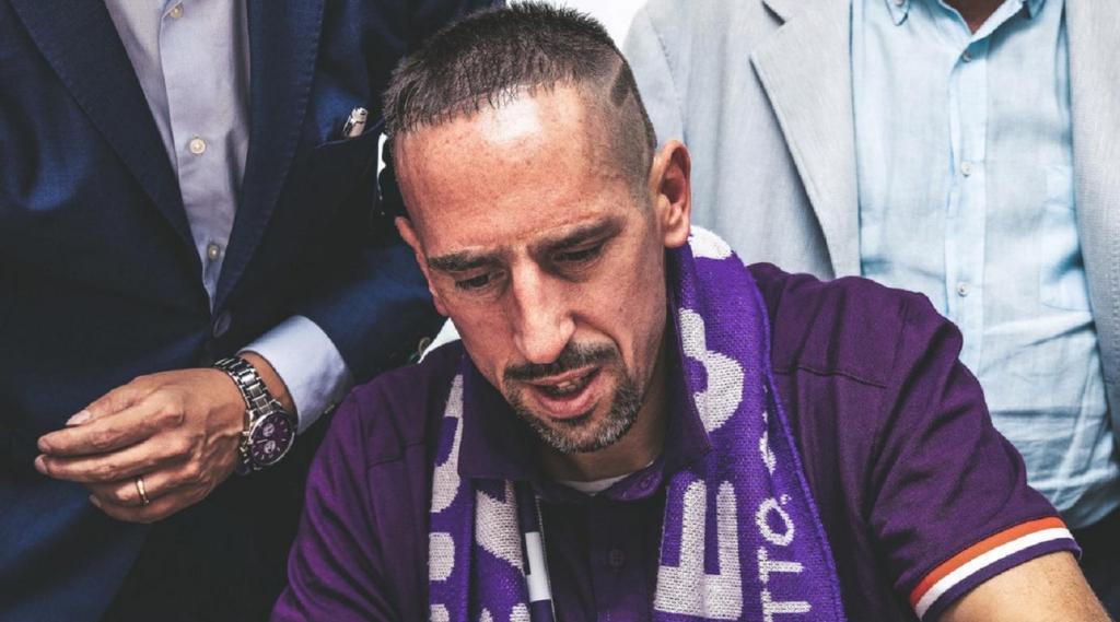 Ribéry (foto: Fiorentina)