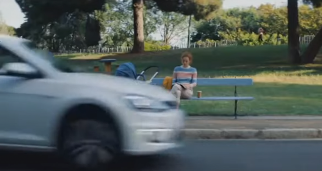 Anúncio do VW e-Golf (reprodução YouTube)