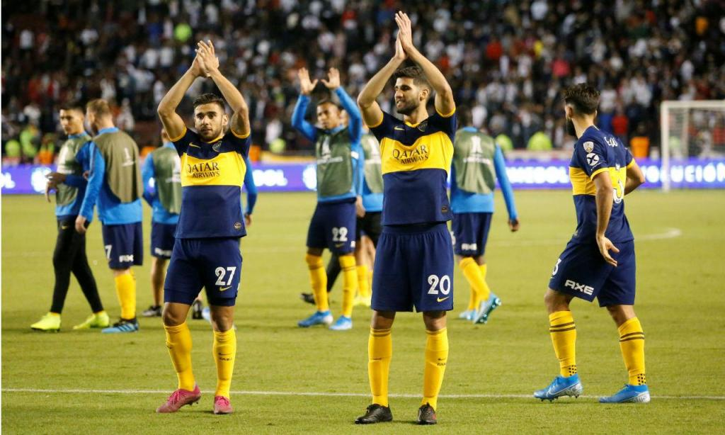 Liga Quito-Boca Juniors (Reuters)
