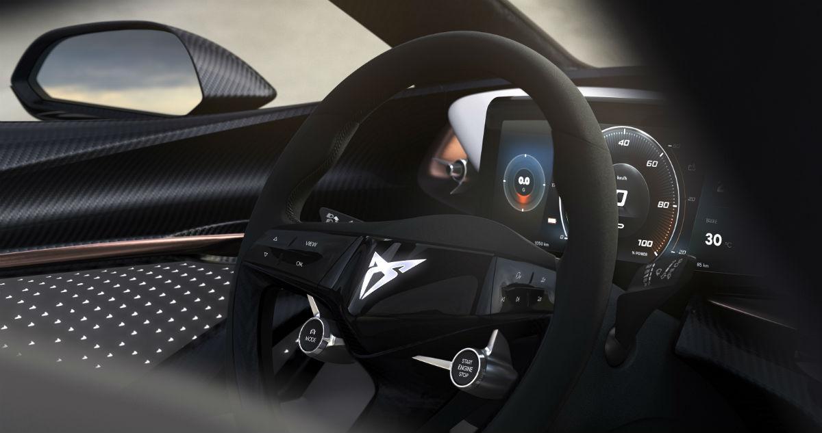 Cupra concept-car elétrico