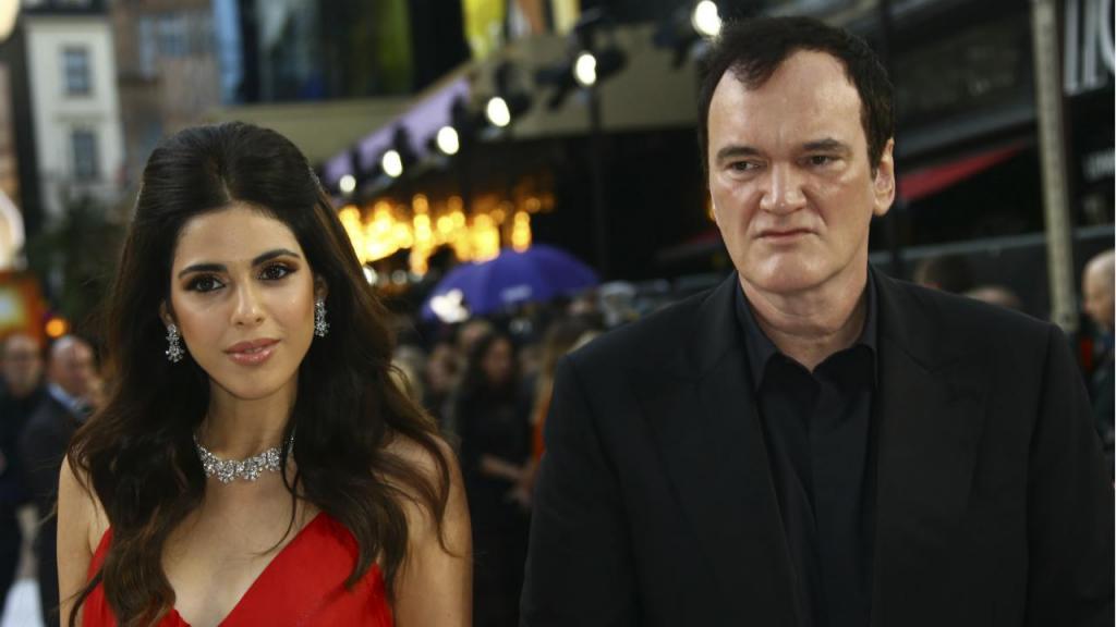 Quentin Tarantino e a mulher, Daniela Pick