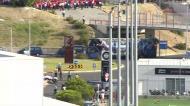 Autocarro do FC Porto chegou à Luz ao som de assobios