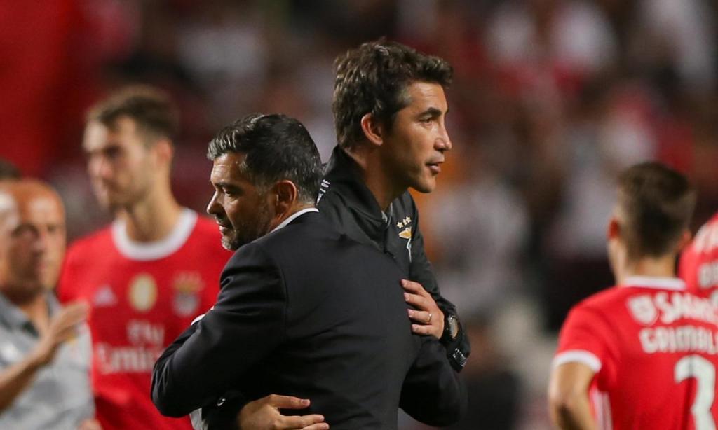 Sérgio Conceição e Bruno Lage