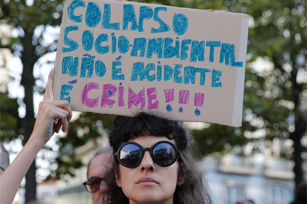Manifestação pela Amazónia em Lisboa