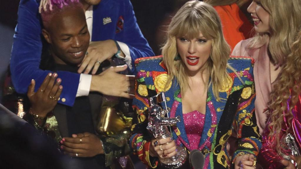 Taylor Swift nos MTV Video Music Awards