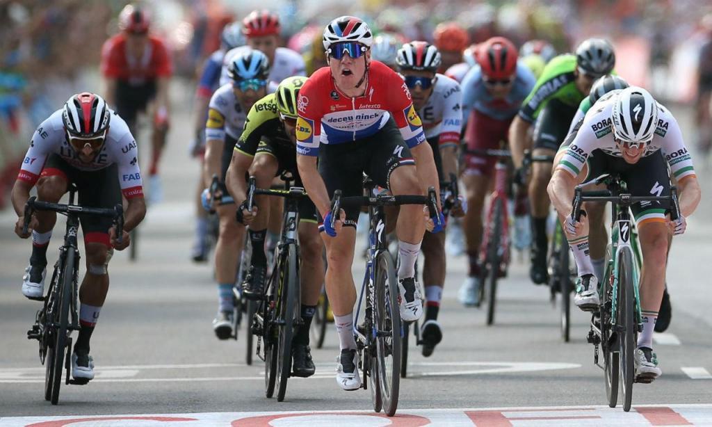 Fabio Jakobsen venceu etapa na Vuelta ao sprint