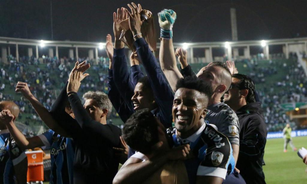 Palmeiras-Grêmio (REUTERS/Rahel Patrasso)