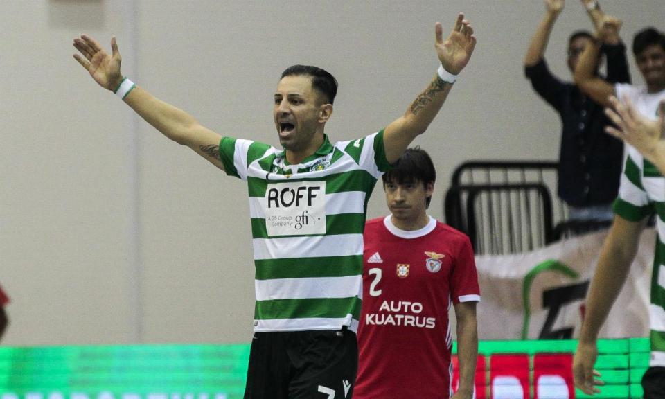 Futsal: Sporting goleia Benfica e conquista nona Supertaça