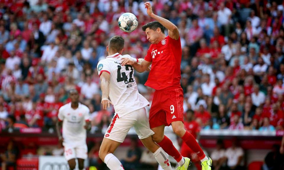 Bayern Munique começa a perder, vira e chega à meia dúzia