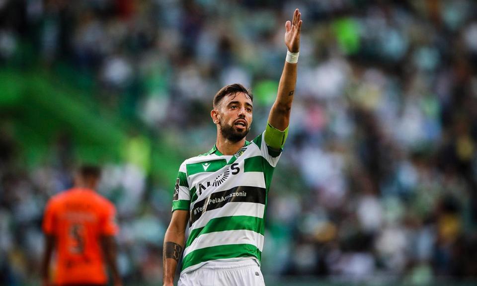 Sporting: Bruno Fernandes vai renovar e será o mais bem pago