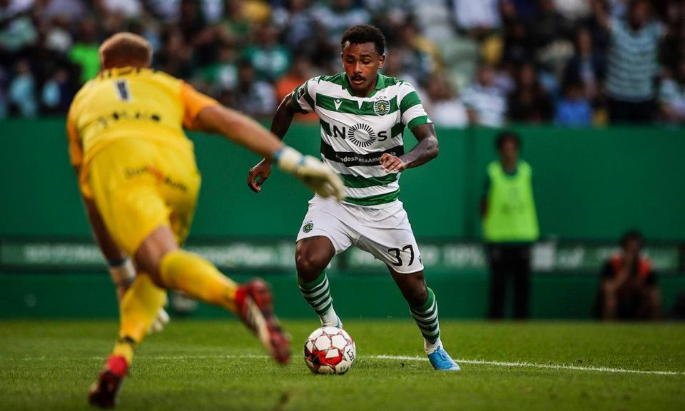 Sporting: Wendel titular nos sub-23 do Brasil