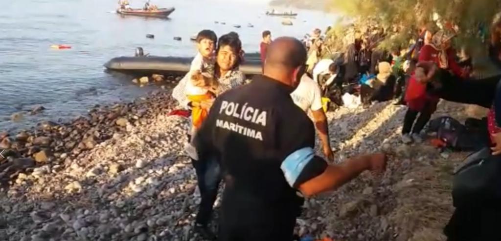 Polícia Marítima portuguesa auxilia em resgate na Grécia