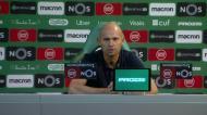 «Todos conhecem a nossa equipa e a situação financeira do clube»